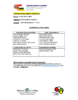 Convocatoria CF 13-11