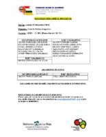 Convocatoria CM 22-12
