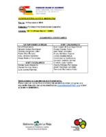 Convocatoria JM 13-11