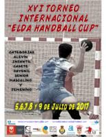 Informacion y Guia del XVI Torneo Internacional Elda Handball Cup 2017