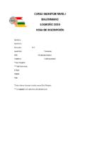 Inscripción curso Monitor La Rioja
